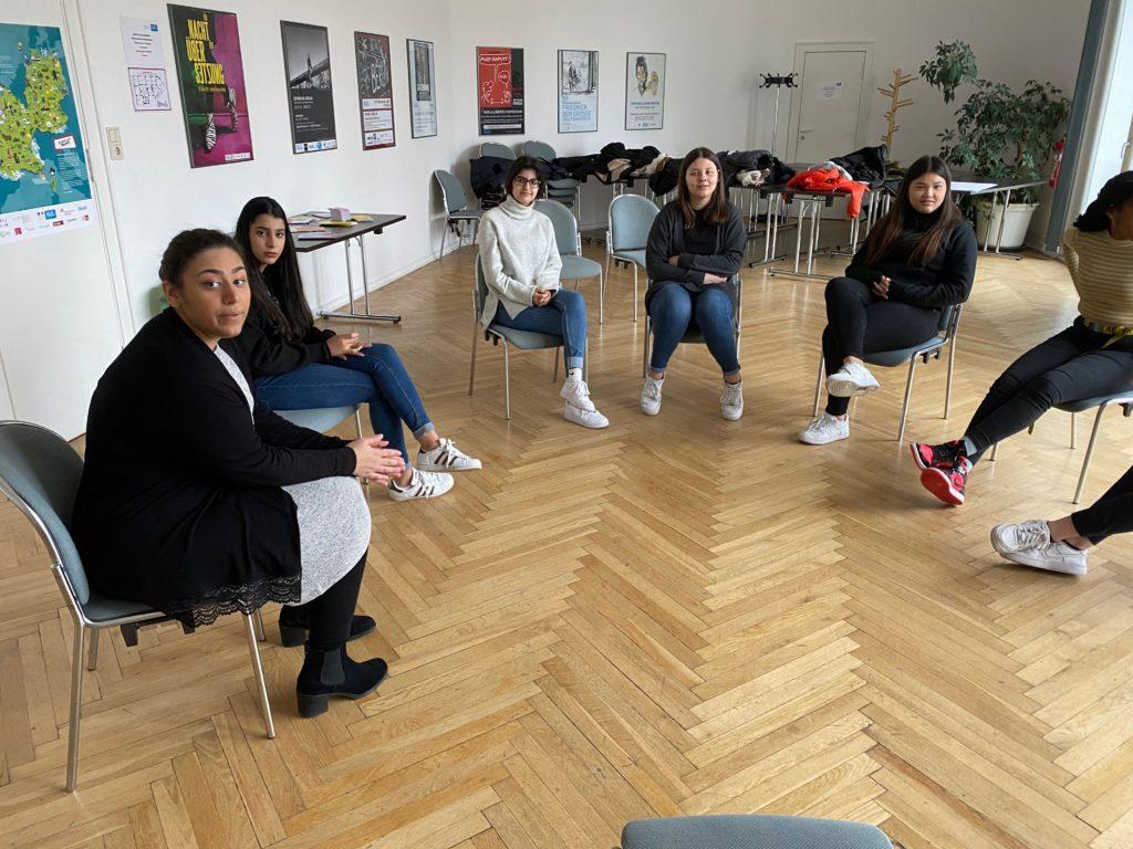 Workshop am Institut Français